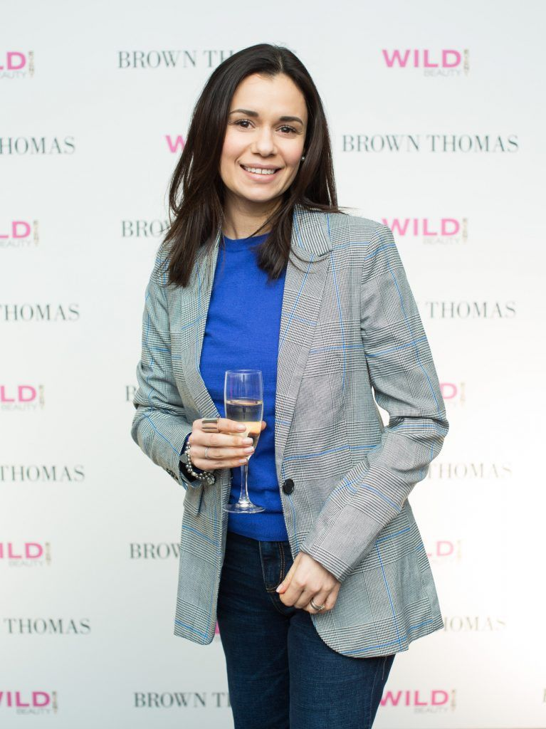 Claudia Walsh pictured at the Brown Thomas Style Masterclass with Courtney Smith on March 7th 2018. Photo: Anthony Woods