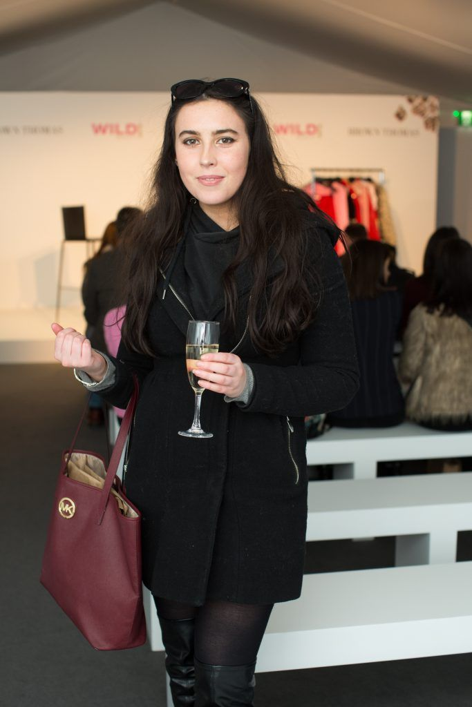 Niamh Farrell pictured at the Brown Thomas Style Masterclass with Courtney Smith on March 7th 2018. Photo: Anthony Woods
