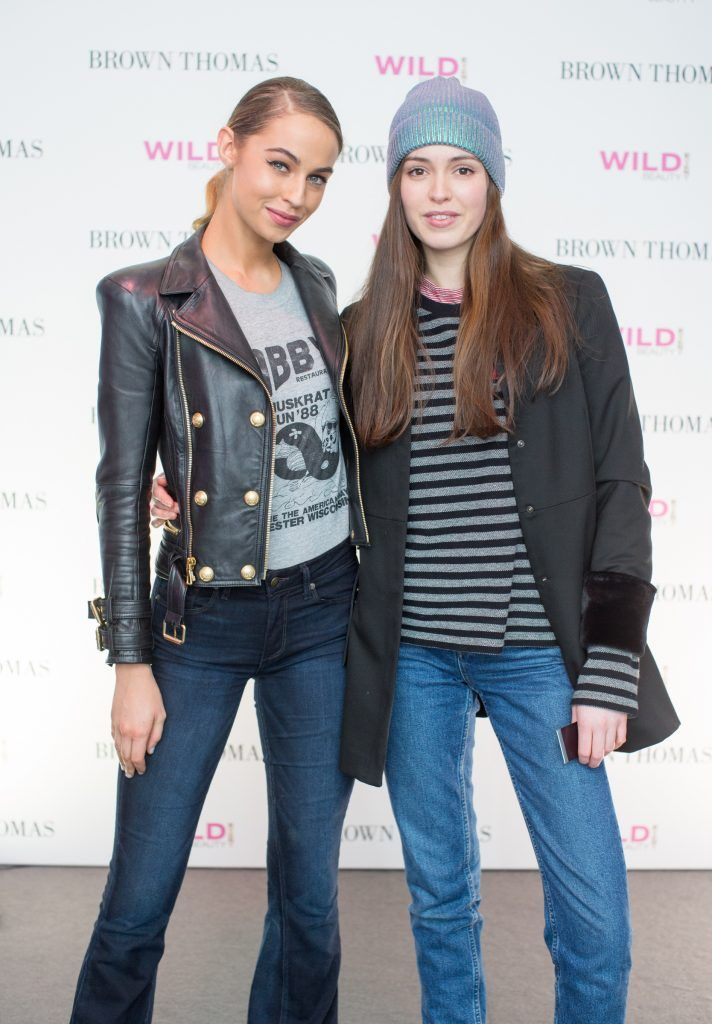 Thalia Heffernan & Louise Byrne pictured at the Brown Thomas Style Masterclass with Courtney Smith on March 7th 2018. Photo: Anthony Woods