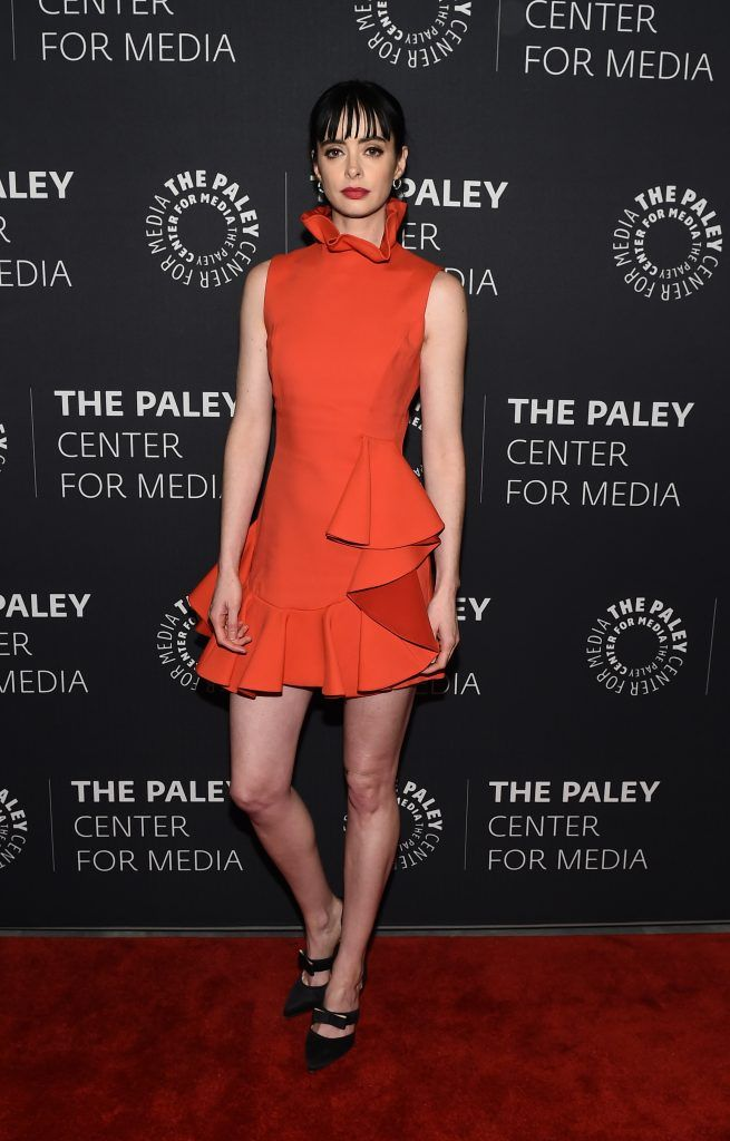 Krysten Ritter attends The Paley Center For Media Presents: An Evening With Jessica Jones at The Paley Center for Media on March 8, 2018 in New York City.  (Photo by Ilya S. Savenok/Getty Images)