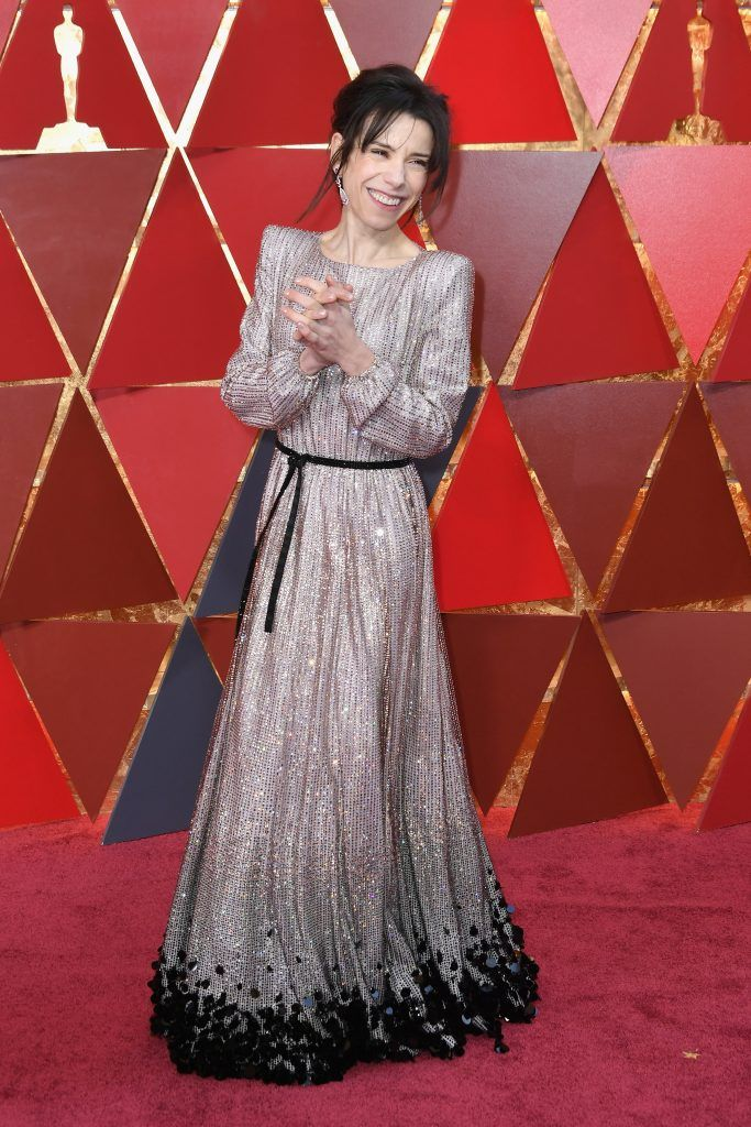 Sally Hawkins attends the 90th Annual Academy Awards at Hollywood & Highland Center on March 4, 2018 in Hollywood, California.  (Photo by Neilson Barnard/Getty Images)
