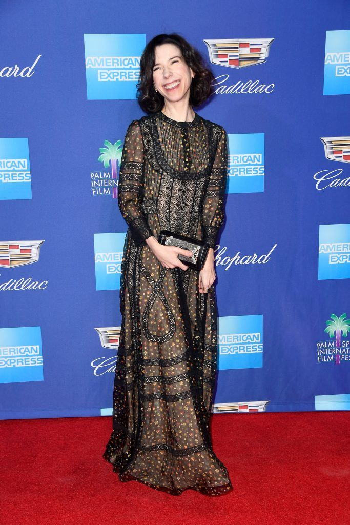 Sally Hawkins attends the 29th Annual Palm Springs International Film Festival Awards Gala at Palm Springs Convention Center on January 2, 2018 in Palm Springs, California.  (Photo by Frazer Harrison/Getty Images for Palm Springs International Film Festival )