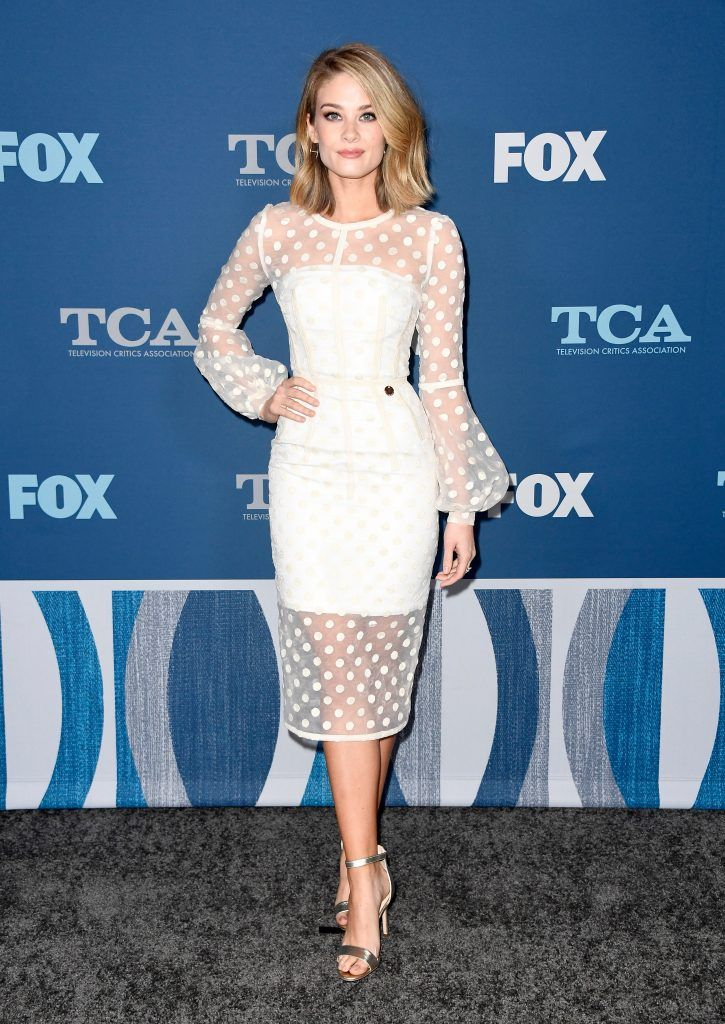 Kim Matula attends the FOX All-Star Party during the 2018 Winter TCA Tour at The Langham Huntington, Pasadena on January 4, 2018 in Pasadena, California.  (Photo by Frazer Harrison/Getty Images)