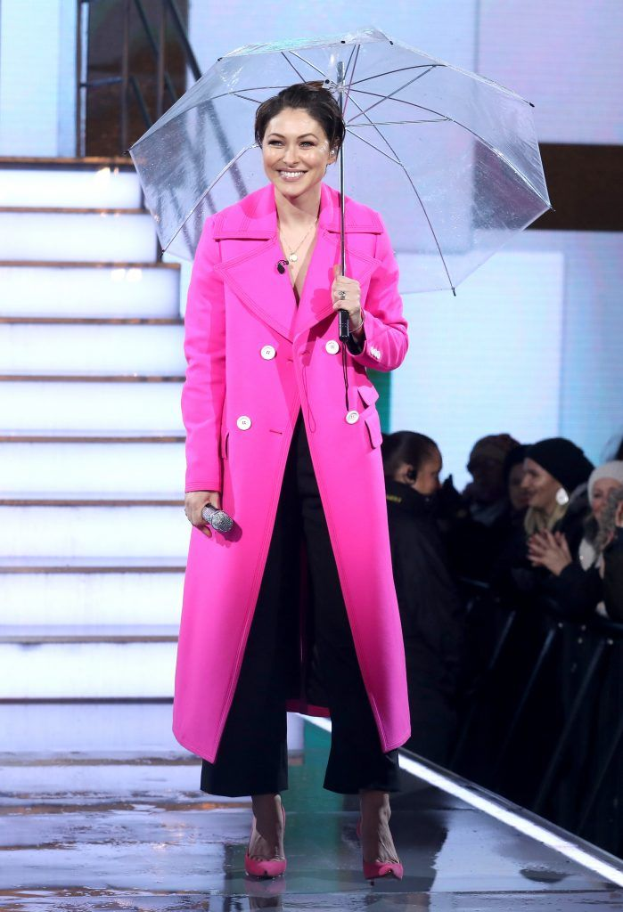 "Emma Willis during the launch night of ""Celebrity Big Brother"" at Elstree Studios on January 2, 2018 in Borehamwood, England. (Photo by Tim P. Whitby/Getty Images)"