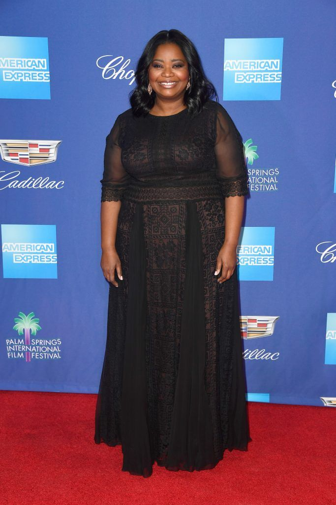 Octavia Spencer attends the 29th Annual Palm Springs International Film Festival Awards Gala at Palm Springs Convention Center on January 2, 2018 in Palm Springs, California.  (Photo by Frazer Harrison/Getty Images for Palm Springs International Film Festival )