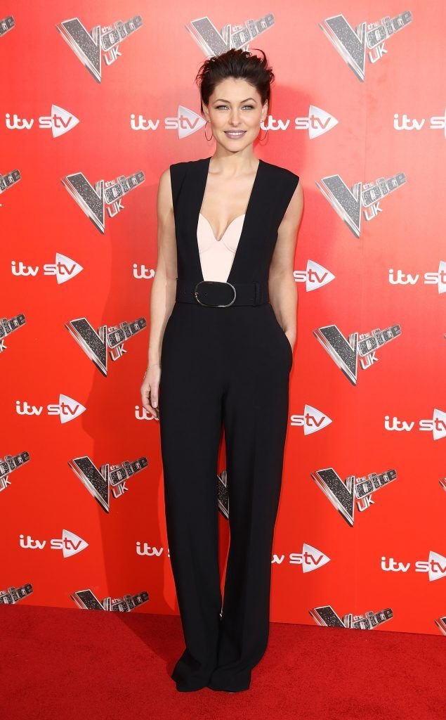 Emma Willis during The Voice UK Launch photocall held at Ham Yard Hotel on January 3, 2018 in London, England.  (Photo by Tim P. Whitby/Tim P. Whitby/Getty Images)