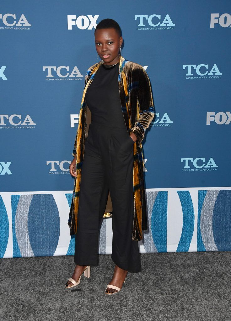 Shaunette Renee Wilson attends the FOX All-Star Party during the 2018 Winter TCA Tour at The Langham Huntington, Pasadena on January 4, 2018 in Pasadena, California.  (Photo by Frazer Harrison/Getty Images)