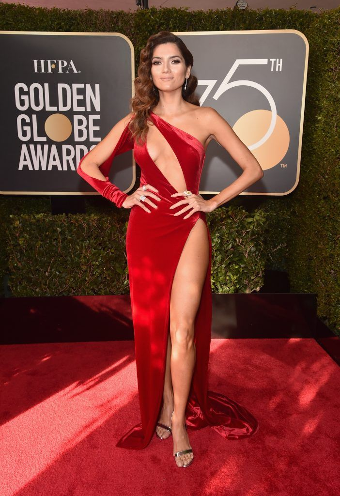BEVERLY HILLS, CA - JANUARY 07:  Actor Blanca Blanco attends The 75th Annual Golden Globe Awards at The Beverly Hilton Hotel on January 7, 2018 in Beverly Hills, California.  (Photo by Alberto E. Rodriguez/Getty Images)