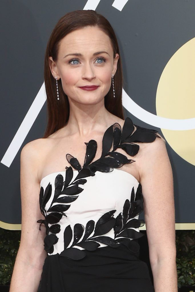 BEVERLY HILLS, CA - JANUARY 07:  Actor Alexis Bledel attends The 75th Annual Golden Globe Awards at The Beverly Hilton Hotel on January 7, 2018 in Beverly Hills, California.  (Photo by Frederick M. Brown/Getty Images)