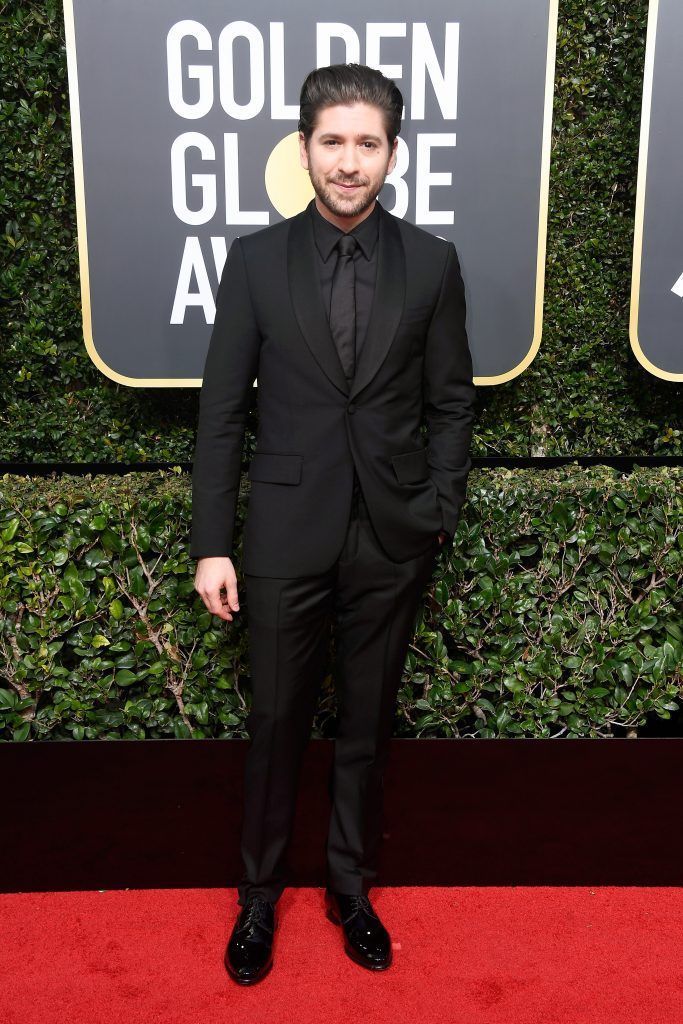 BEVERLY HILLS, CA - JANUARY 07:  Actor Michael Zegen attends The 75th Annual Golden Globe Awards at The Beverly Hilton Hotel on January 7, 2018 in Beverly Hills, California.  (Photo by Frazer Harrison/Getty Images)