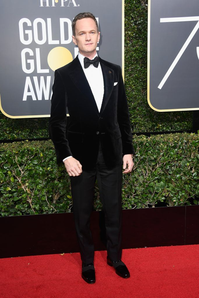 BEVERLY HILLS, CA - JANUARY 07:  Neil Patrick Harris attends The 75th Annual Golden Globe Awards at The Beverly Hilton Hotel on January 7, 2018 in Beverly Hills, California.  (Photo by Frazer Harrison/Getty Images)