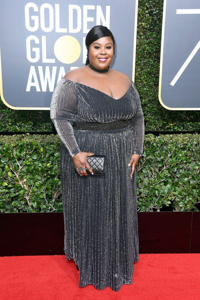 BEVERLY HILLS, CA - JANUARY 07:  Actor Raven Goodwin attends The 75th Annual Golden Globe Awards at The Beverly Hilton Hotel on January 7, 2018 in Beverly Hills, California.  (Photo by Frazer Harrison/Getty Images)