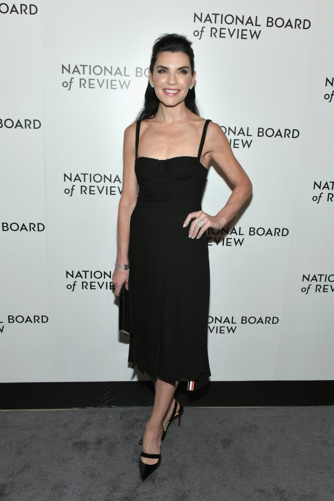 Julianna Margulies attends the 2018 The National Board Of Review Annual Awards Gala at Cipriani 42nd Street on January 9, 2018 in New York City.  (Photo by Mike Coppola/Getty Images)