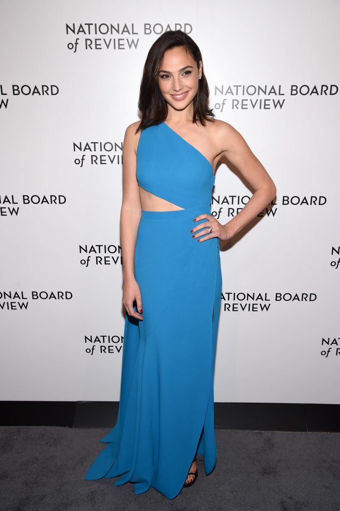 Actor Gal Gadot attends the National Board of Review Annual Awards Gala at Cipriani 42nd Street on January 9, 2018 in New York City.  (Photo by Dimitrios Kambouris/Getty Images for National Board of Review)