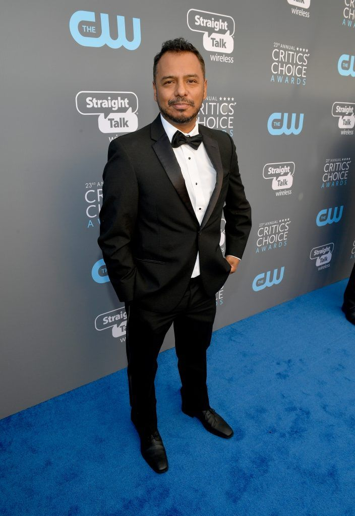 SANTA MONICA, CA - JANUARY 11:  Actor Carlos Moreno Jr. attends The 23rd Annual Critics' Choice Awards at Barker Hangar on January 11, 2018 in Santa Monica, California.  (Photo by Matt Winkelmeyer/Getty Images for The Critics' Choice Awards  )