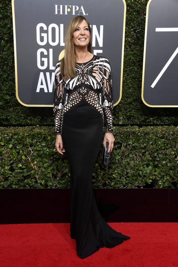 Allison Janney attends The 75th Annual Golden Globe Awards at The Beverly Hilton Hotel on January 7, 2018 in Beverly Hills, California.  (Photo by Frazer Harrison/Getty Images)