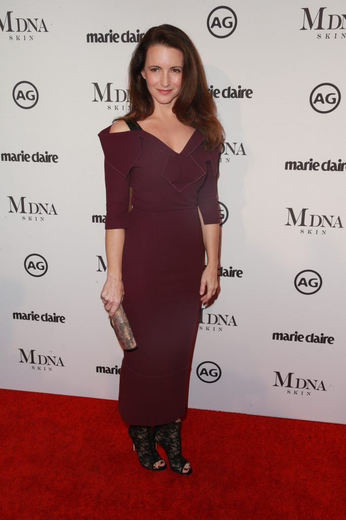 Kristin Davis attends the Marie Claire's Image Makers Awards 2018 on January 11, 2018 in West Hollywood, California.  (Photo by Rich Fury/Getty Images)