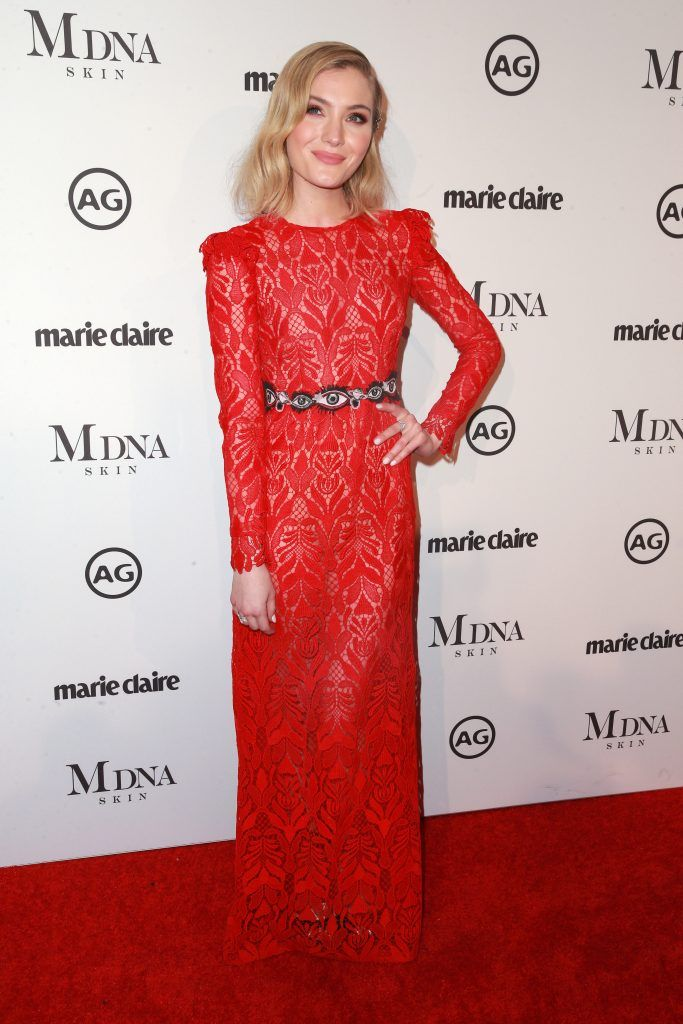 Skyler Samuels attends the Marie Claire's Image Makers Awards 2018 on January 11, 2018 in West Hollywood, California.  (Photo by Rich Fury/Getty Images)
