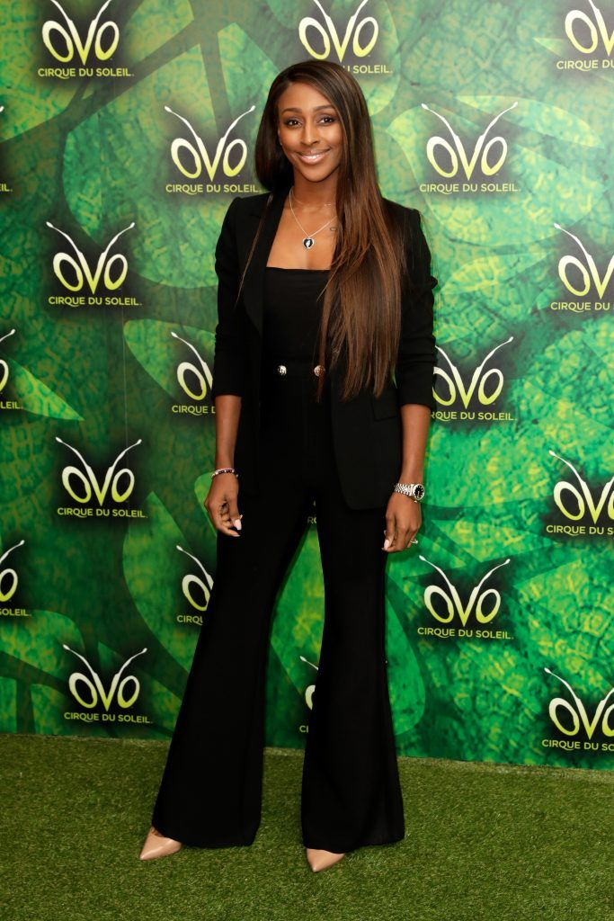 Alexandra Burke attends the Cirque du Soleil OVO premiere at Royal Albert Hall on January 10, 2018 in London, England.  (Photo by John Phillips/Getty Images)