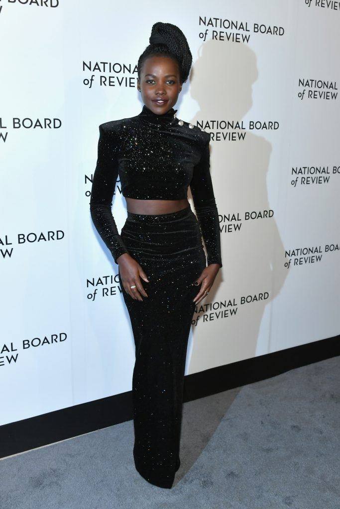Lupita Nyong'o attends the 2018 The National Board Of Review Annual Awards Gala at Cipriani 42nd Street on January 9, 2018 in New York City.  (Photo by Mike Coppola/Getty Images)