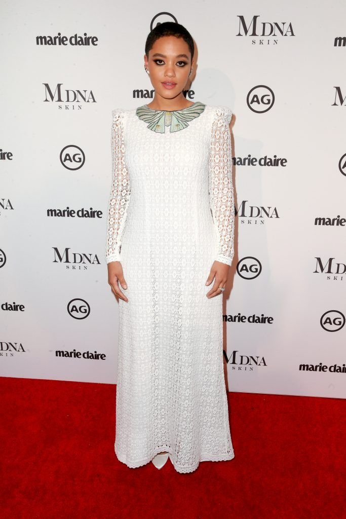 Olivia Culpo attends the Marie Claire's Image Makers Awards 2018 on January 11, 2018 in West Hollywood, California.  (Photo by Rich Fury/Getty Images)