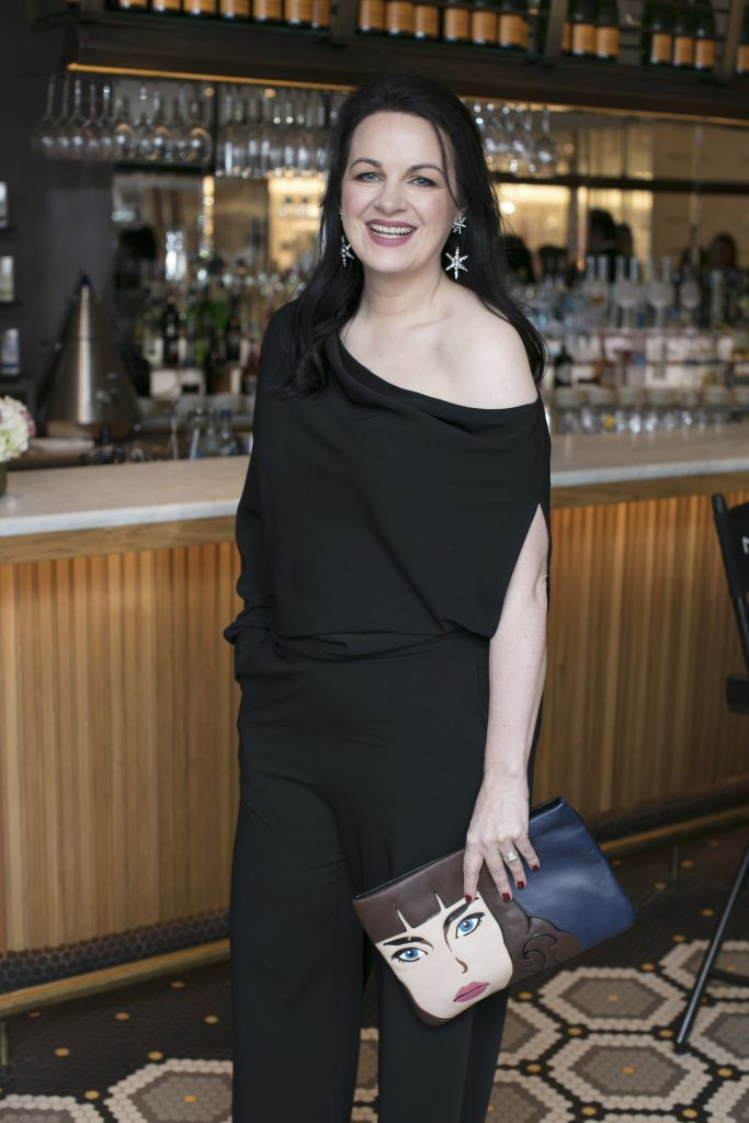 Triona McCarthy pictured at The Restaurant at Brown Thomas where M.A.C Cosmetics celebrated 20 years of colour, creativity and culture at Brown Thomas Dublin. Photo: Anthony Woods.