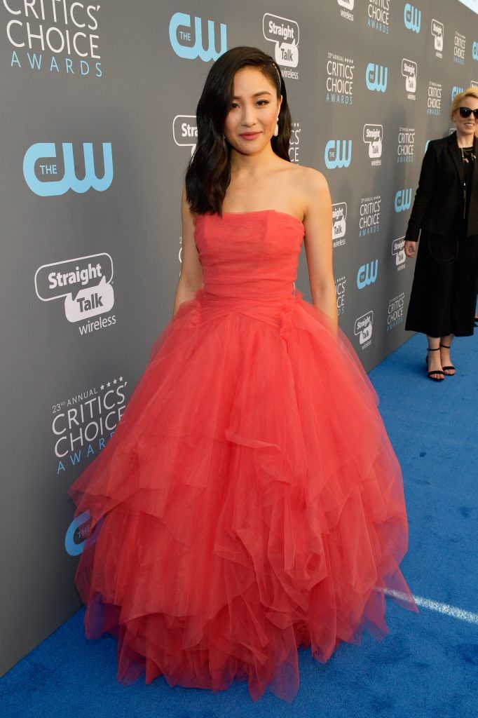 SANTA MONICA, CA - JANUARY 11:  Actor Constance Wu attends The 23rd Annual Critics' Choice Awards at Barker Hangar on January 11, 2018 in Santa Monica, California.  (Photo by Matt Winkelmeyer/Getty Images for The Critics' Choice Awards  )