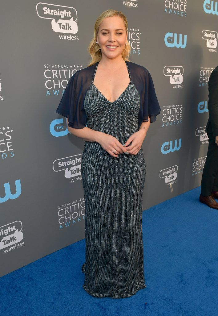 SANTA MONICA, CA - JANUARY 11:  Actor Abbie Cornish attends The 23rd Annual Critics' Choice Awards at Barker Hangar on January 11, 2018 in Santa Monica, California.  (Photo by Matt Winkelmeyer/Getty Images for The Critics' Choice Awards  )