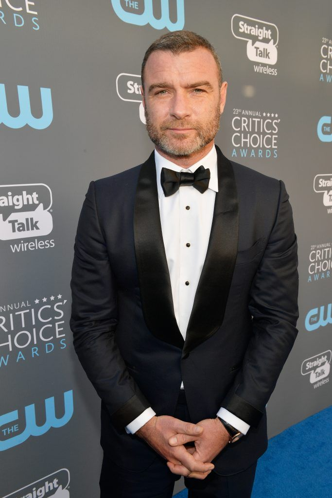 SANTA MONICA, CA - JANUARY 11:  Actor Liev Schreiber attends The 23rd Annual Critics' Choice Awards at Barker Hangar on January 11, 2018 in Santa Monica, California.  (Photo by Matt Winkelmeyer/Getty Images for The Critics' Choice Awards  )