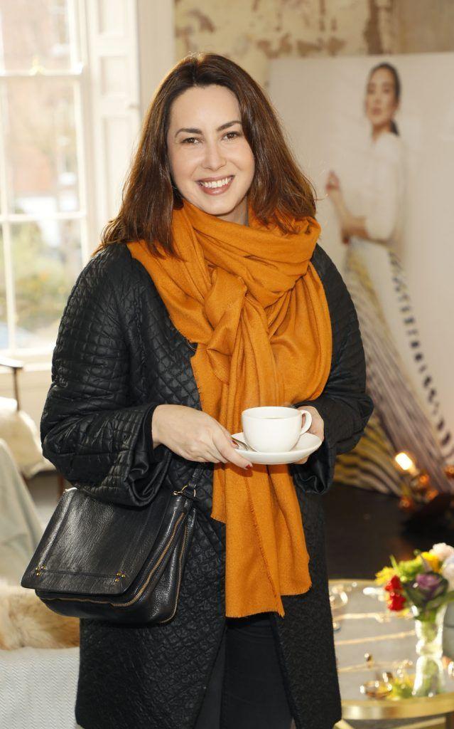 Elaine Prendeville at the launch of Mint Velvet's new Spring/Summer 2018 collection at 23 Leinster Road -photo Kieran Harnett