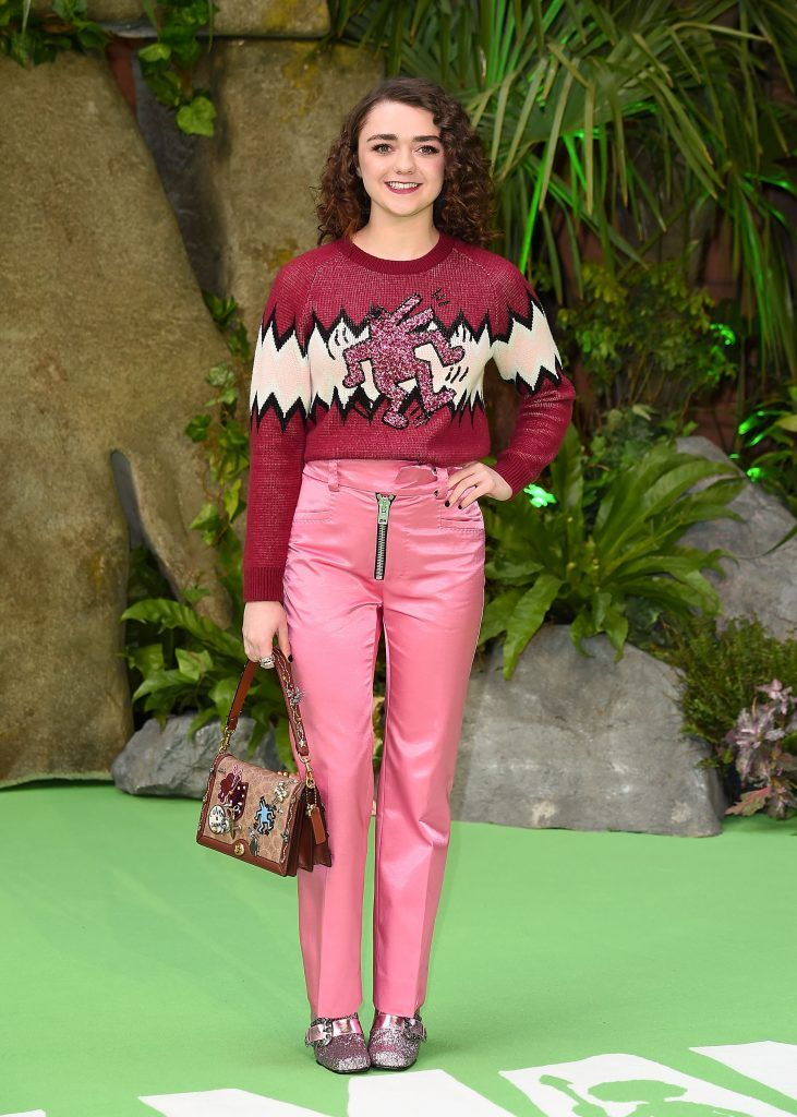 Maisie Williams attends the 'Early Man' World Premiere held at BFI IMAX on January 14, 2018 in London, England.  (Photo by Eamonn M. McCormack/Getty Images)