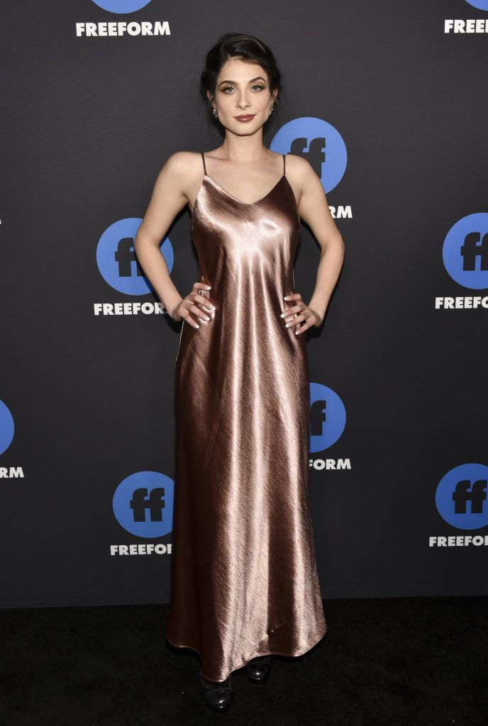 Niki Koss arrives at Freeform Summit on January 18, 2018 in Hollywood, California.  (Photo by Rodin Eckenroth/Getty Images)