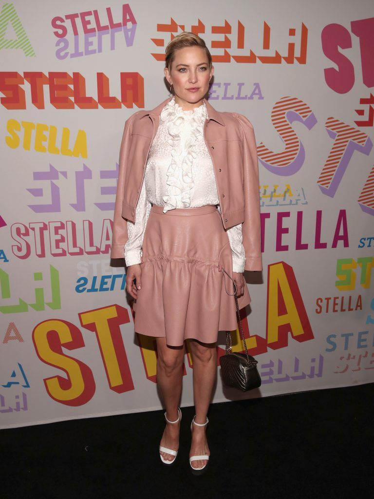 Kate Hudson attends Stella McCartney's Autumn 2018 Collection Launch on January 16, 2018 in Los Angeles, California.  (Photo by Christopher Polk/Getty Images)