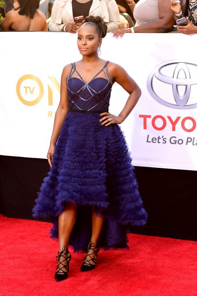 Antoinette Robertson attends the 49th NAACP Image Awards at Pasadena Civic Auditorium on January 15, 2018 in Pasadena, California.  (Photo by Matt Winkelmeyer/Getty Images)