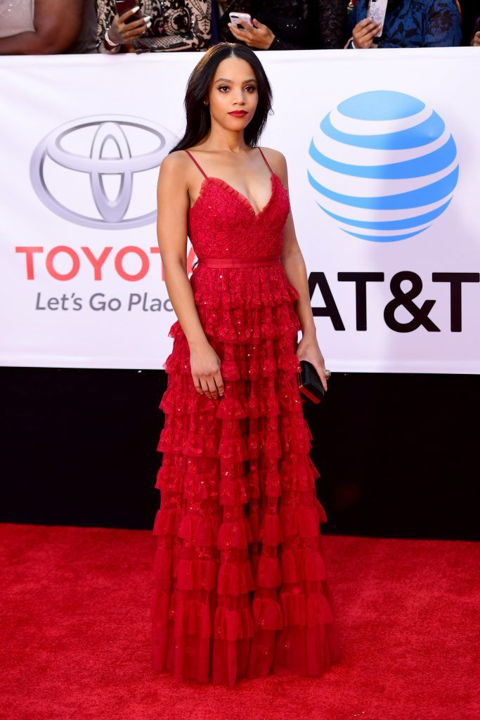 Bianca Lawson attends the 49th NAACP Image Awards at Pasadena Civic Auditorium on January 15, 2018 in Pasadena, California.  (Photo by Matt Winkelmeyer/Getty Images)