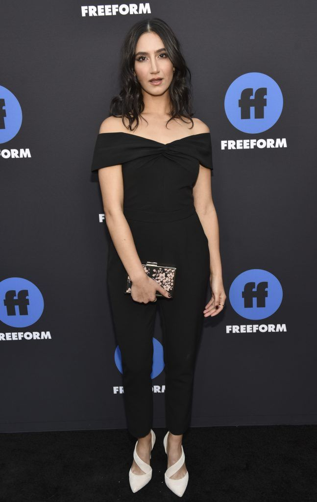 """Actress Nikohl Boosheri of """"The Bold Type"""" arrives at Freeform Summit on January 18, 2018 in Hollywood, California.  (Photo by Rodin Eckenroth/Getty Images)"""