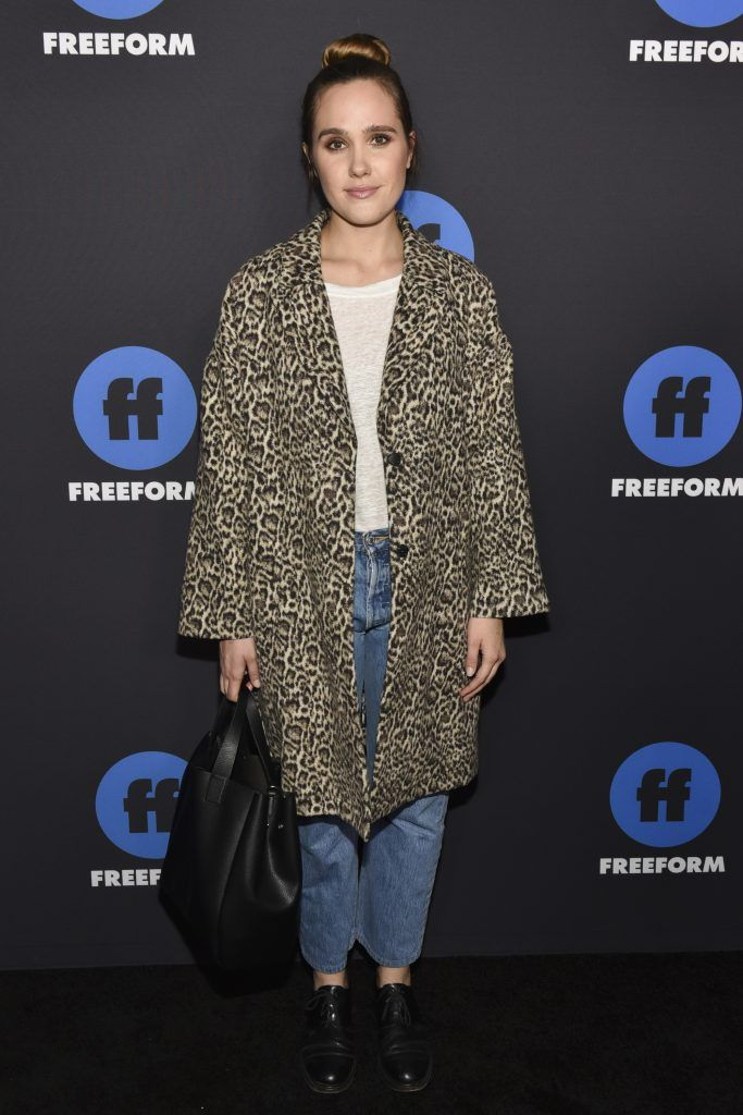 """Actress Eden Brolin of """"Beyond"""" arrives at Freeform Summit on January 18, 2018 in Hollywood, California.  (Photo by Rodin Eckenroth/Getty Images)"""