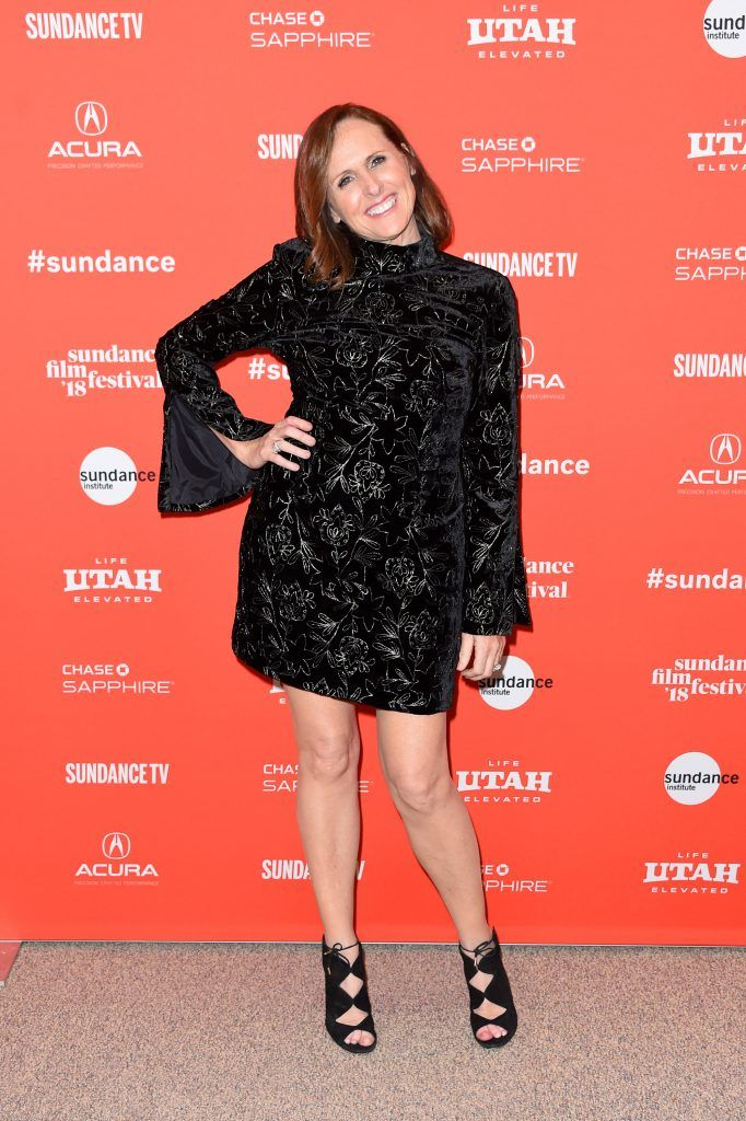 """Actor Molly Shannon attends the """"Private Life"""" Premiere during the 2018 Sundance Film Festival at Eccles Center Theatre on January 18, 2018 in Park City, Utah.  (Photo by Michael Loccisano/Getty Images)"""