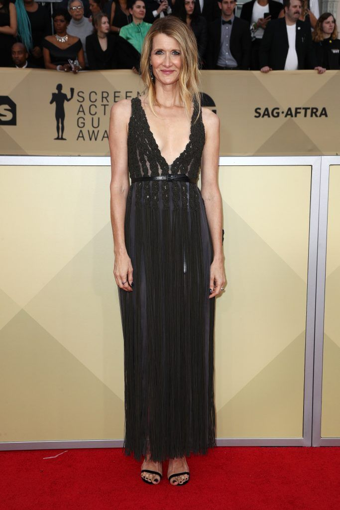 LOS ANGELES, CA - JANUARY 21: Actor Laura Dern attends the 24th Annual Screen Actors Guild Awards at The Shrine Auditorium on January 21, 2018 in Los Angeles, California. 27522_017  (Photo by Frederick M. Brown/Getty Images)