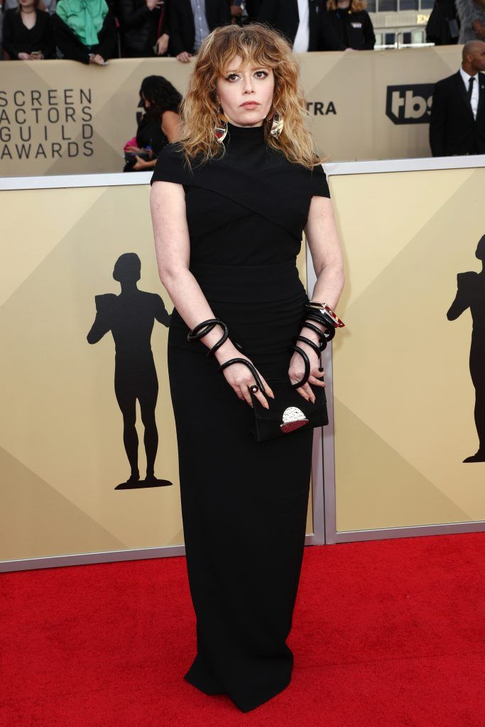 LOS ANGELES, CA - JANUARY 21:  Actor Natasha Lyonne attends the 24th Annual Screen Actors Guild Awards at The Shrine Auditorium on January 21, 2018 in Los Angeles, California. 27522_017  (Photo by Frederick M. Brown/Getty Images)