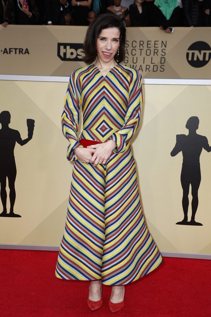 LOS ANGELES, CA - JANUARY 21:  Actor Sally Hawkins attends the 24th Annual Screen Actors Guild Awards at The Shrine Auditorium on January 21, 2018 in Los Angeles, California. 27522_017  (Photo by Frederick M. Brown/Getty Images)