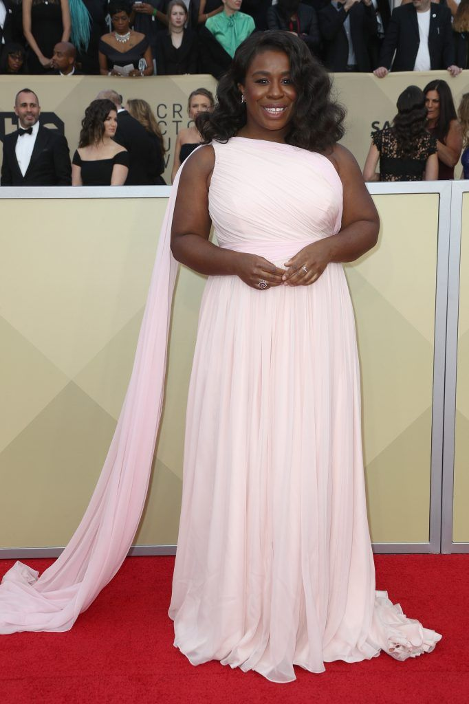 LOS ANGELES, CA - JANUARY 21:  Actor Uzo Aduba attends the 24th Annual Screen Actors Guild Awards at The Shrine Auditorium on January 21, 2018 in Los Angeles, California. 27522_017  (Photo by Frederick M. Brown/Getty Images)