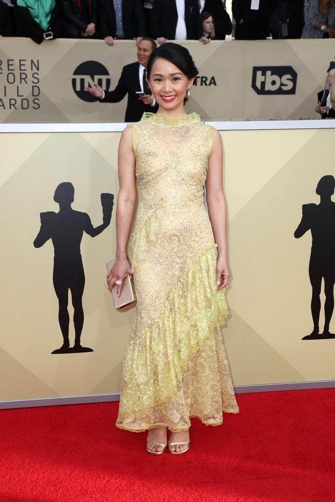 LOS ANGELES, CA - JANUARY 21:  Actor Hong Chau attends the 24th Annual Screen Actors Guild Awards at The Shrine Auditorium on January 21, 2018 in Los Angeles, California. 27522_017  (Photo by Frederick M. Brown/Getty Images)