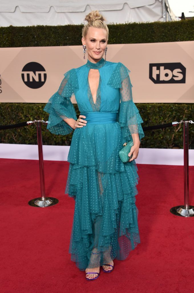 LOS ANGELES, CA - JANUARY 21:  Actor Molly Sims attends the 24th Annual Screen Actors Guild Awards at The Shrine Auditorium on January 21, 2018 in Los Angeles, California. 27522_006  (Photo by Alberto E. Rodriguez/Getty Images)