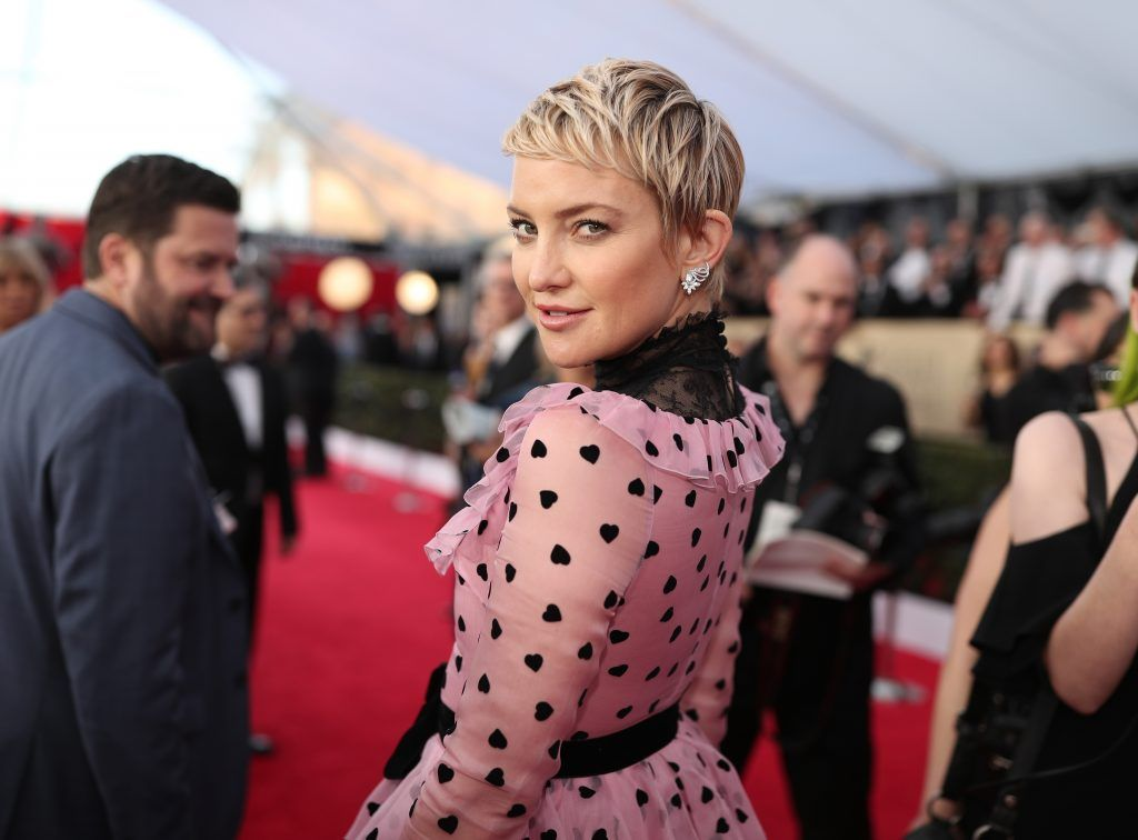 LOS ANGELES, CA - JANUARY 21:  Actor Kate Hudson attends the 24th Annual Screen Actors Guild Awards at The Shrine Auditorium on January 21, 2018 in Los Angeles, California. 27522_010  (Photo by Christopher Polk/Getty Images for Turner Image)