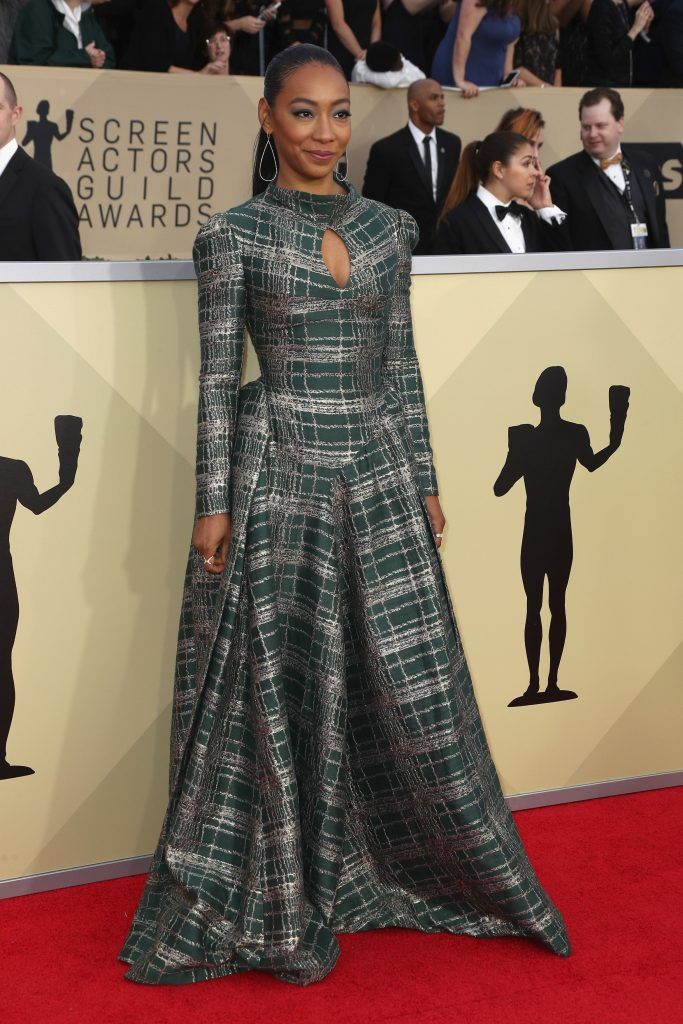 LOS ANGELES, CA - JANUARY 21:  Actor Betty Gabriel attends the 24th Annual Screen Actors Guild Awards at The Shrine Auditorium on January 21, 2018 in Los Angeles, California. 27522_017  (Photo by Frederick M. Brown/Getty Images)
