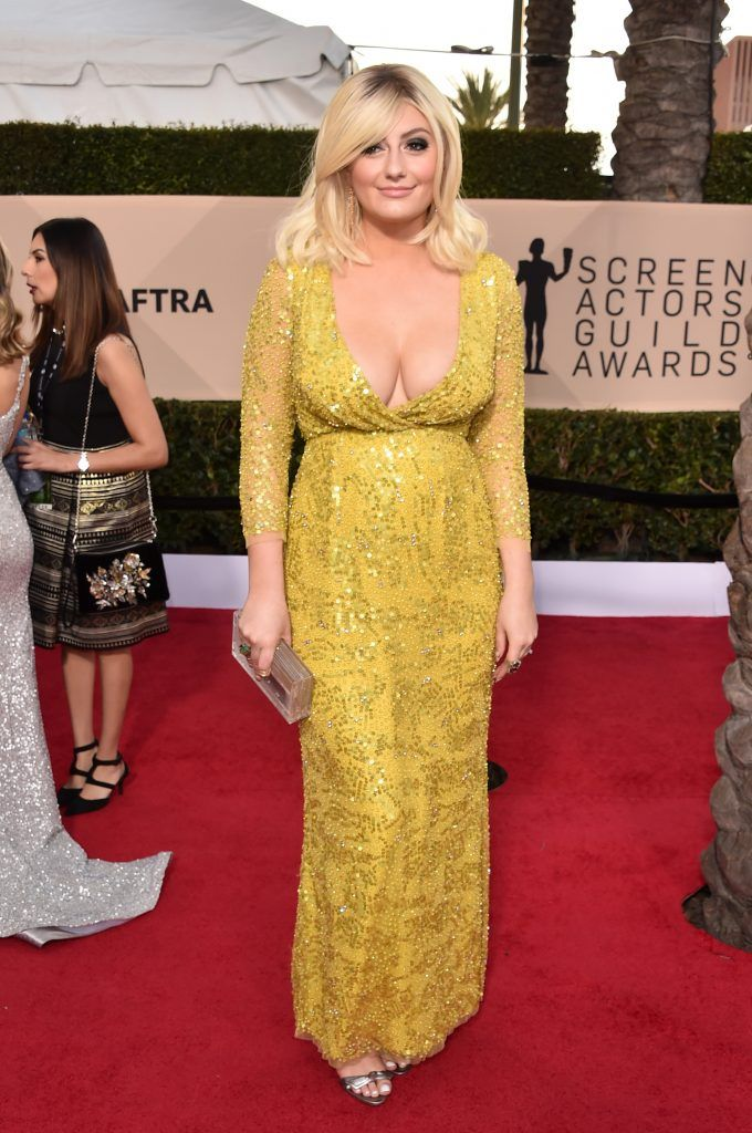 LOS ANGELES, CA - JANUARY 21:  Actor Francesca Curran attends the 24th Annual Screen Actors Guild Awards at The Shrine Auditorium on January 21, 2018 in Los Angeles, California. 27522_006  (Photo by Alberto E. Rodriguez/Getty Images)