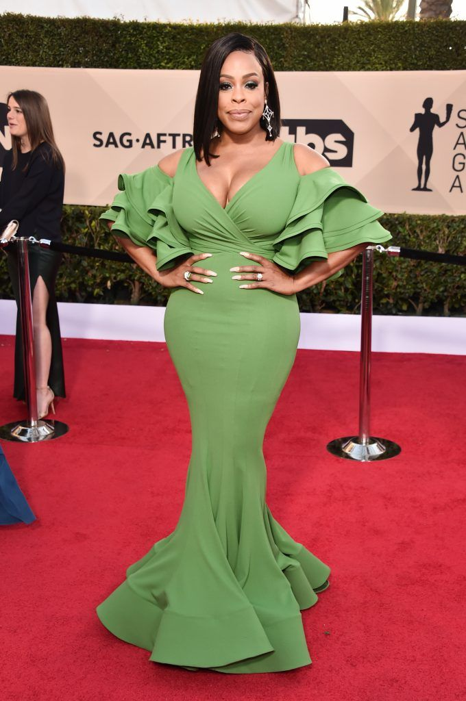 LOS ANGELES, CA - JANUARY 21:  Actor Niecy Nash attends the 24th Annual Screen Actors Guild Awards at The Shrine Auditorium on January 21, 2018 in Los Angeles, California. 27522_006  (Photo by Alberto E. Rodriguez/Getty Images)