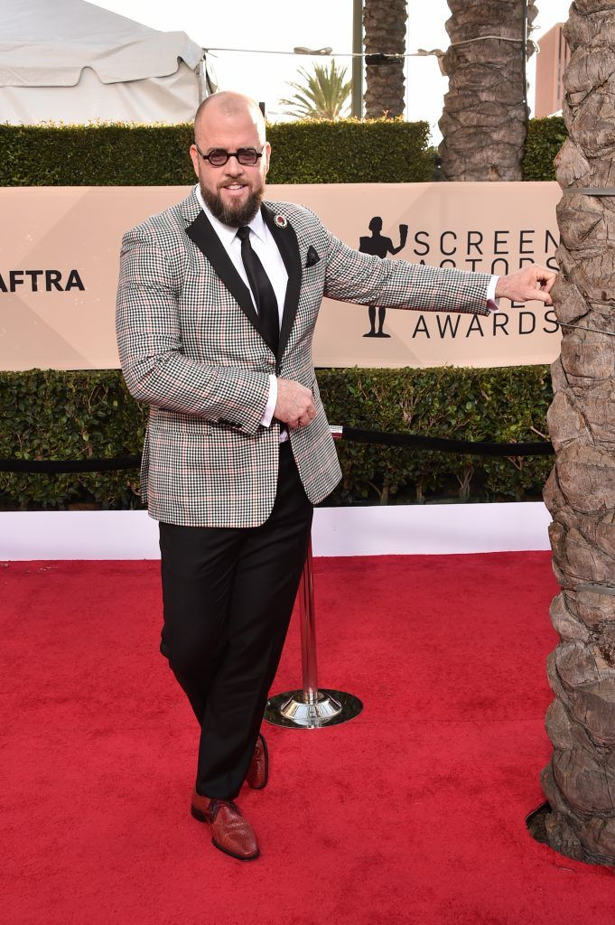 LOS ANGELES, CA - JANUARY 21:  Actor Chris Sullivan attends the 24th Annual Screen Actors Guild Awards at The Shrine Auditorium on January 21, 2018 in Los Angeles, California. 27522_006  (Photo by Alberto E. Rodriguez/Getty Images)