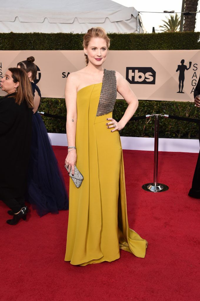 LOS ANGELES, CA - JANUARY 21:  Actor Alexandra Breckenridge attends the 24th Annual Screen Actors Guild Awards at The Shrine Auditorium on January 21, 2018 in Los Angeles, California. 27522_006  (Photo by Alberto E. Rodriguez/Getty Images)